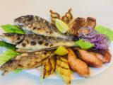Шашлыки из рыбы ассорти